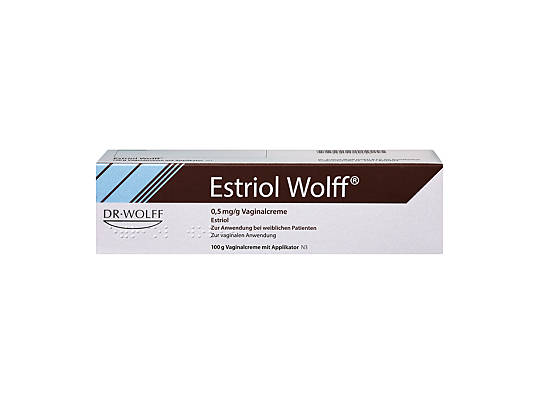 Estriol Wolff Vaginalcreme